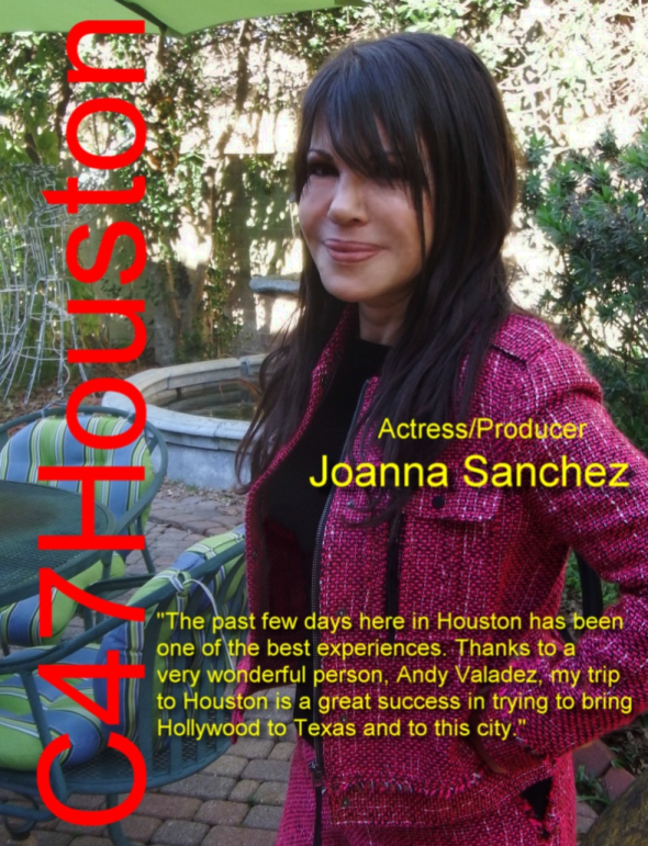 Joanna Sanchez Magazine Feature